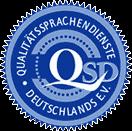 qualitaetssprachendienste deutschland